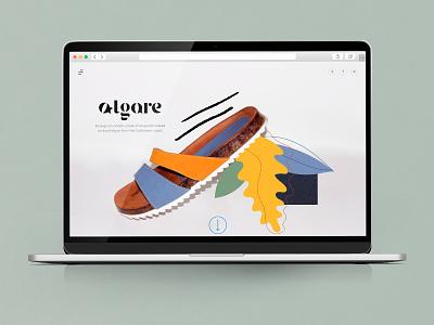 Algare ifdesignaward productdesign sandals shoes identity branding identity ecofriendly product design logo identity design branding brand graphic design illustration design