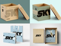 SKY - New Visual identity and the Packaging