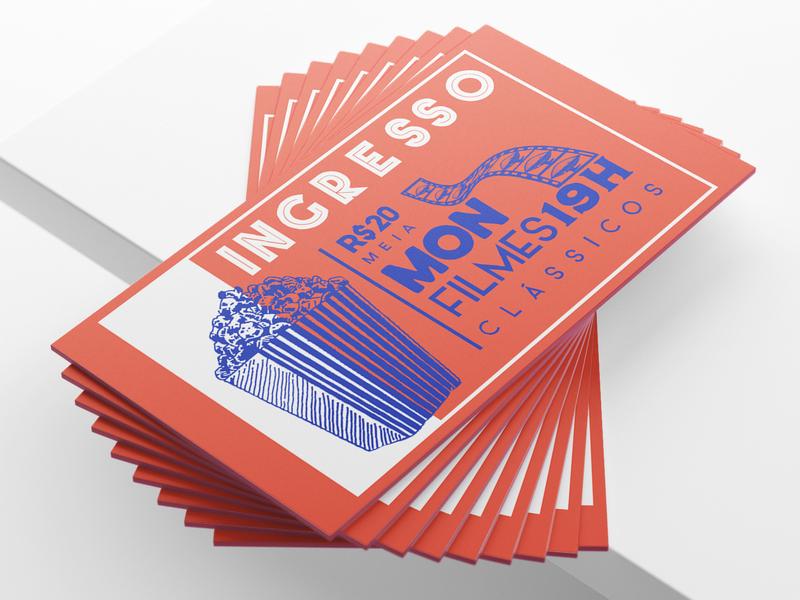 MON Classic Films Festival film branding design film festival festival event branding event branding illustration design