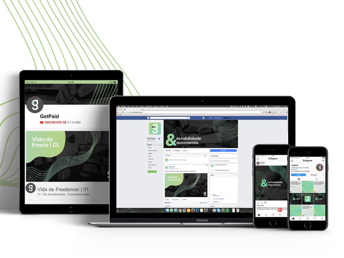 GetPaid App socialmedia app design app administration gestão ux uiux ui webdesign graphicdesign design branding