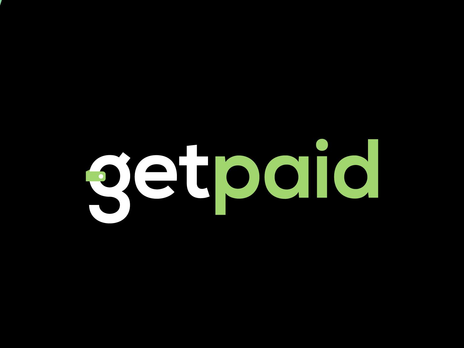 GetPaid App typography webdesign graphic design logodesign logo design freelance app freelance administrator gestão app uxui ux ui logo branding design