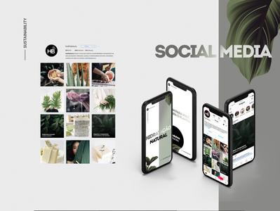 Healthy Beauty - Social Media