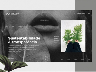 Healthy Beauty - Website