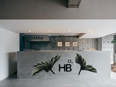 Healthy Beauty - Store architecture interior design store design store identity design sustainability sustainable green brand identity branding brand design