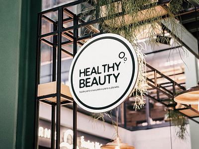 Healthy Beauty - Store sustainability sustainable logo design logo store design store branding design brand identity branding brand design