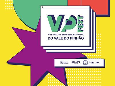 VP FEST festivals prefeitura de curitiba brazil curitiba graphic design vector art vector identity design identity festival poster festival fest poster illustration branding design