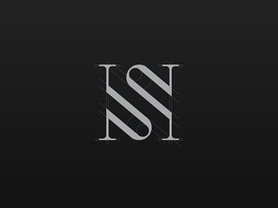 S monogram grid logo lettermark monogram logo monogram