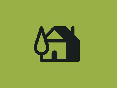 House + Cypress logo logodesign home branding cypress tree house logomark logo