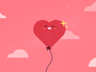 Happy Valentine's Day! valentines day poster valentines valentines day card illustration cute heart valentines day