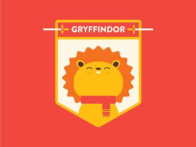 Hogwarts: House Gryffindor badge sword harry potter lion gryffindor hogwarts