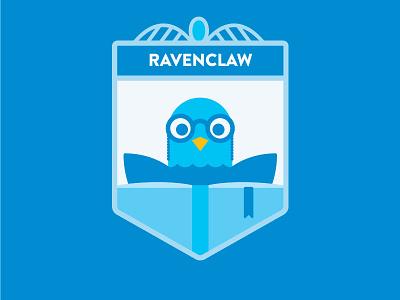 Hogwarts: House Ravenclaw crest book glasses bird harry potter hogwarts ravenclaw
