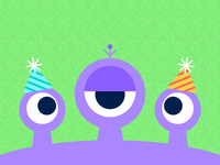 Alien Birthday Party