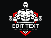 Logo Design For Gym Company