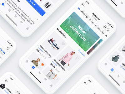Sector UI Kit. E-commerce uidesign e-commerce ui ecommerce mobile store e-commerce design ecommerce shop e-commerce screens digital goods