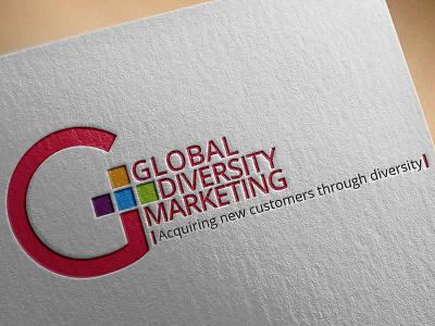 Global Diversity Marketing g logo g marketing logo marketing company logo design logo