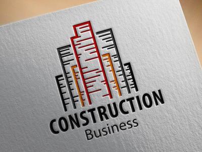 Construction Business Logo construction business logo logo design logo construction logo