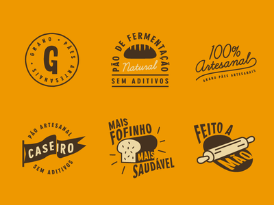 Grano - Stamps