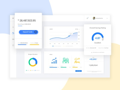 Savings Portal Dashboard