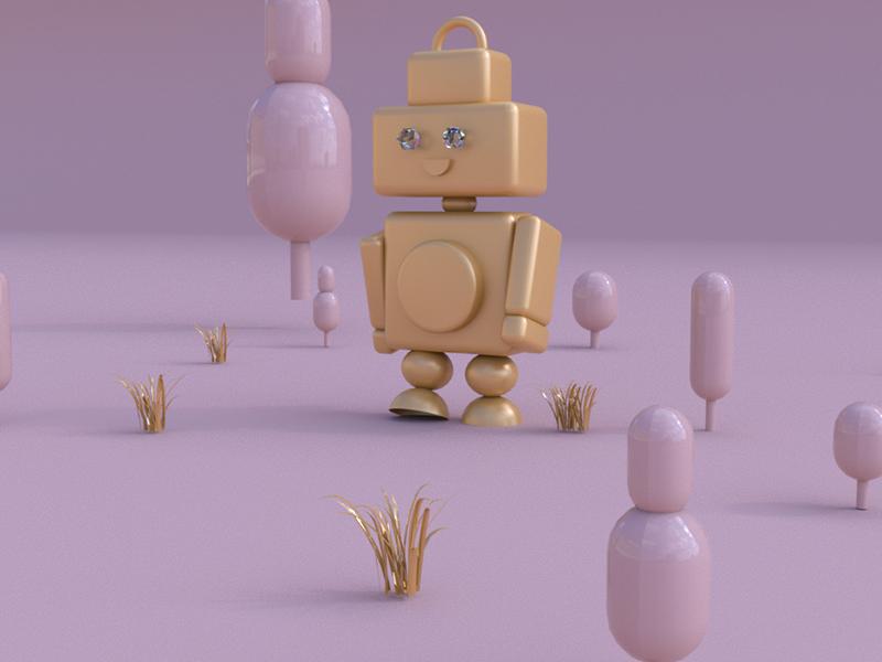 Roboshine visual design animation conceptual illustration arnoldrender octane arnold cinema4d 3d