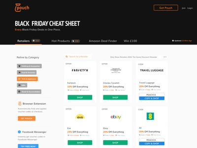 Black Friday Discount Page