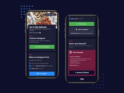 Muffin | Web App mobile pwa ui design ui creative design london feed uidesign