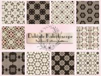 Delicate Kaleidoscope Surface Patterns
