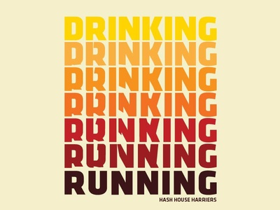Drinking > Running Type Sketch