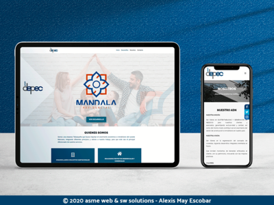 Grupo depec mockup psd mockup design mark designer work wordpress diseño web
