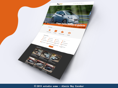 website crediautos sitio web web app ux ui graphic designer