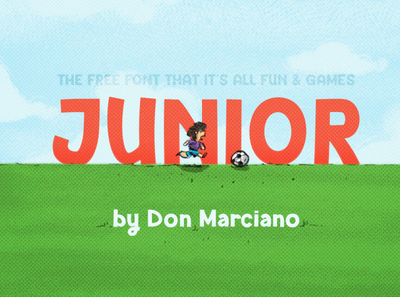 Junior Bold Free Font