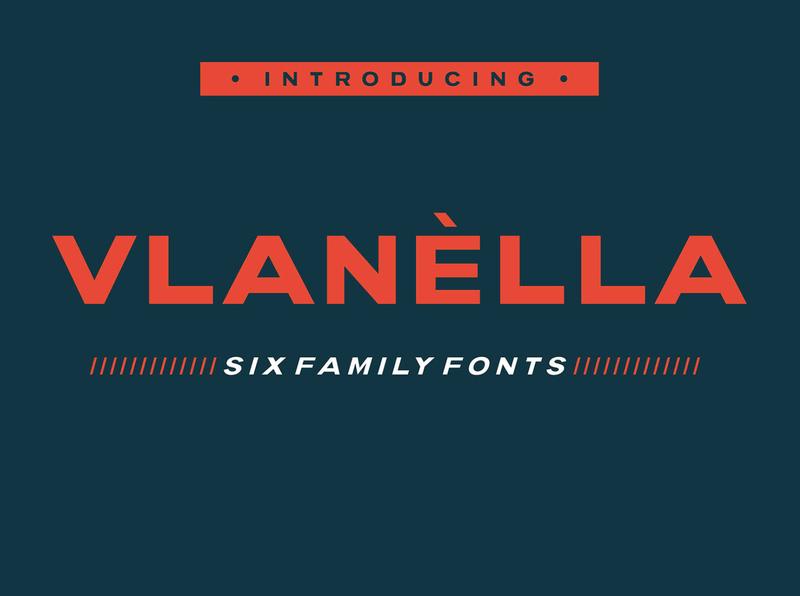 Vlane lla Free Font Family family typography sans serif font free download free font download