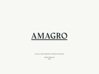 Amagro Free Font font free download free font download