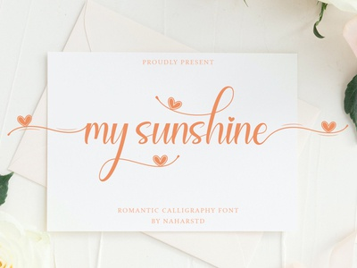 My Sunshine Free Font font free typography download free font download