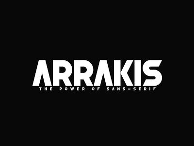 Arrakis Free Font sans serif font free download free font download