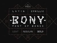 BONY Free Font font free typography download free font download