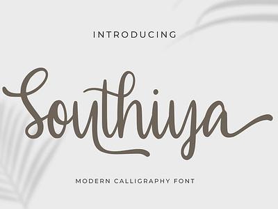 Southiya Free Font script handwritten handwritten font font free typography download free font download