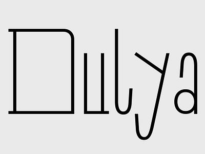 Dulya Free Font sans serif design font free typography download free font download