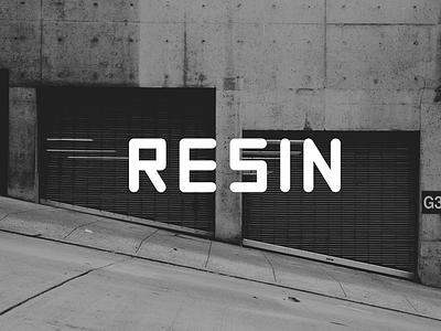 RESIN Free Font sans serif font free typography download free font download