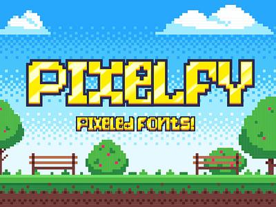 Pixelfy Free Font typography font free download free font download