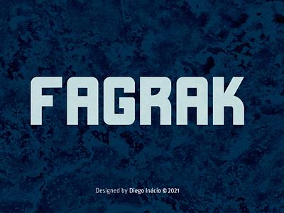 FAGRAK Free Font  1 display design typography free font download free font download