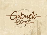 Gabuek Free Font