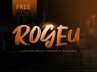 Rogeu Free Font