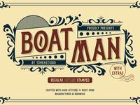 Boatman Free Font
