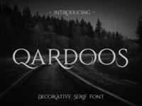 Qardoos Free Serif Font