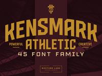 Kensmark 03 Free Font