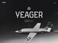 Yeager Free Typeface