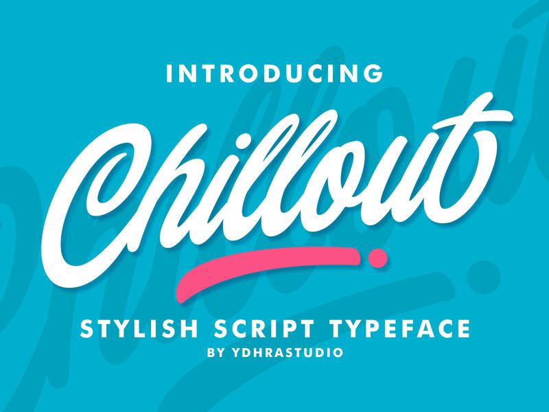 Chillout Free Font script handwritten design typography free font download free font download