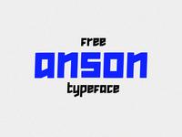 Anson Free Typeface