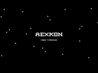 Aexkon Free Font