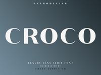 Croco Free Font Family